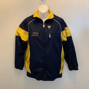 Nike windbreaker jacket full zip boys large 14/16